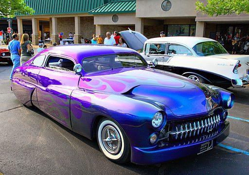 Attractive Hot Summer, Cool Car